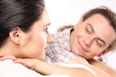 Lenguaje corporal masculino en la mirada