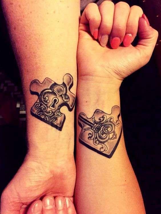 30 Tatuajes Para Parejas Originales Con Fotos